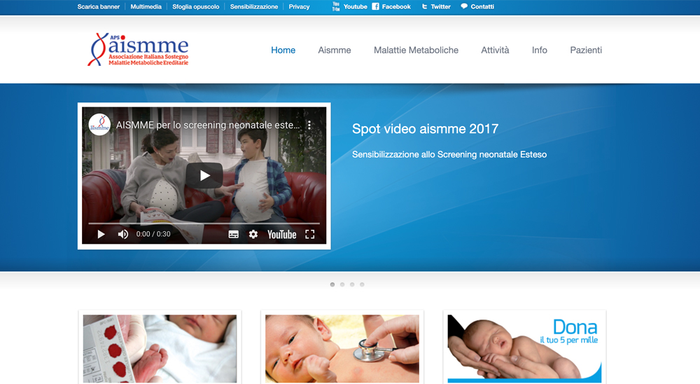 italy webpage