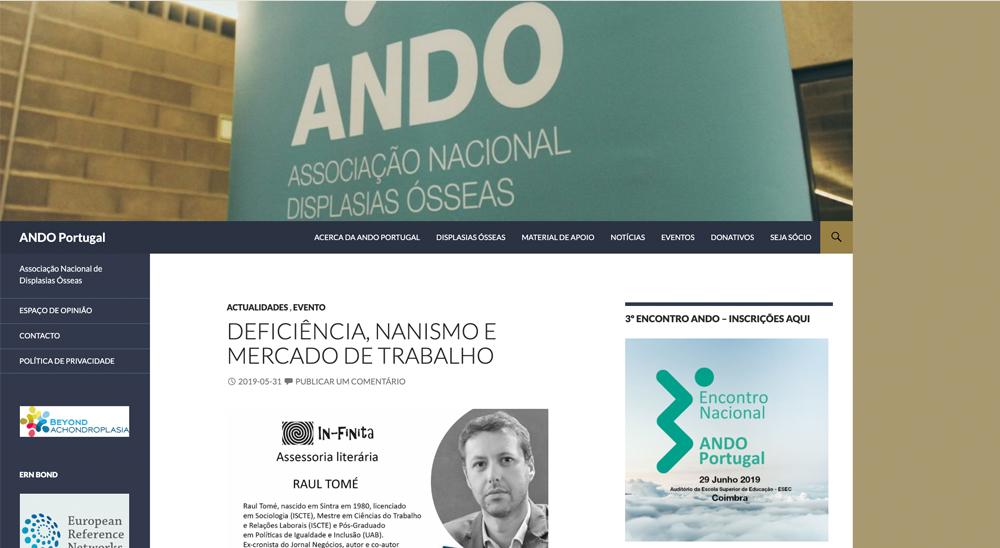 ANDO webpage