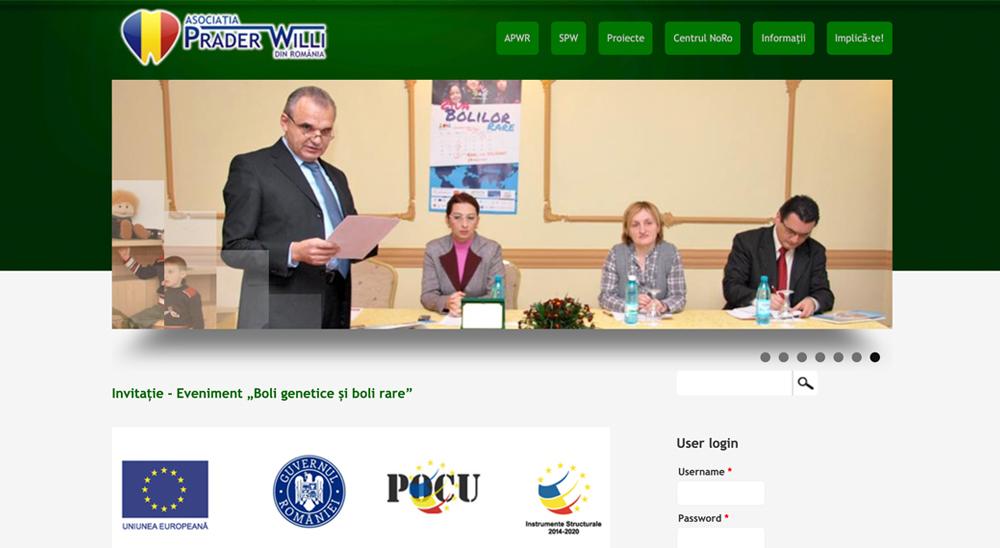 xlh romania webpage