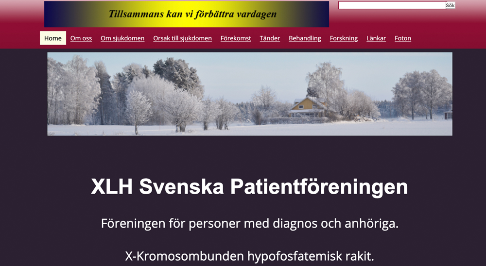 sweden webpage